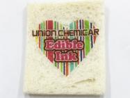 デコアートパン風に、食パンに可食インクジェットでデザインを印刷