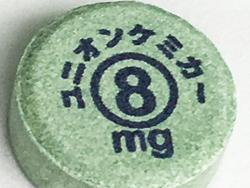 市販の錠剤(OD錠)に可食インクジェットインクで印刷。誤飲や調剤ミスの防止目的で実際に導入されている事例が多数あります。