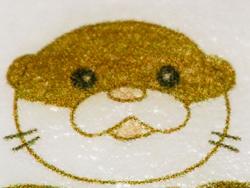 カワウソと過ごすカフェ「little otter」様で採用いただいたラテアート用プリント可食シート