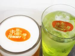 02:鉄板居酒屋 TOMMY でビールやチュウハイ(サワー)に可食シート(オブラート)