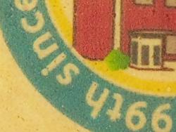 3:お菓子プリント ゴーフレットオリジナルデザイン(クリームサンド薄焼き煎餅)プリント 創立記念品 アップ画像