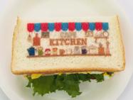 1:食パンにオリジナル印刷(プリントサンドイッチ)