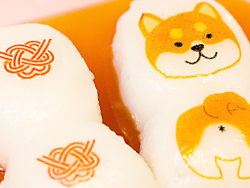 串団子に可食シート120-3