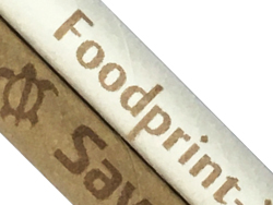 市販の紙製ストローに天然色素の可食インクでダイレクト印刷UP画像